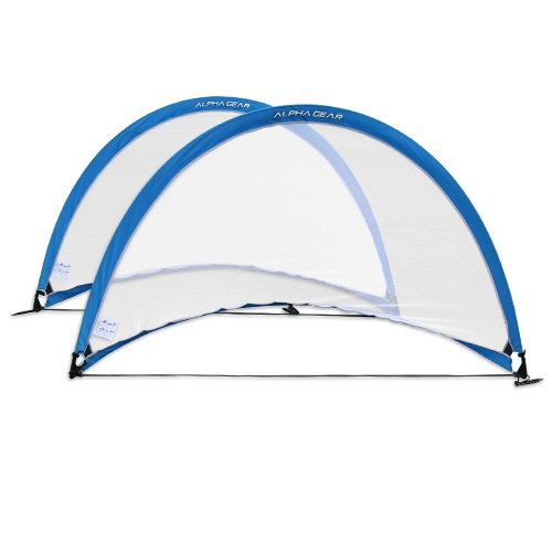 Alpha Gear 6ft Round Pop Up Goals - Pair