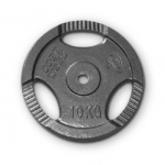 Bodyworx Standard Ezy Grip Weight Plate - 10kg Bodyworx Standard Ezy Grip Weight Plate - 10kg