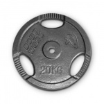 Bodyworx Standard Ezy Grip Weight Plate - 20kg Bodyworx Standard Ezy Grip Weight Plate - 20kg