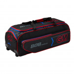 G&M 808 Cricket Wheelie Bag - BLACK/RED/BLUE - 2019/2020 G&M 808 Cricket Wheelie Bag - BLACK/RED/BLUE - 2019/2020
