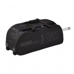 G&M 606 Cricket Wheelie Bag - BLACK/BLACK - 2019/2020 G&M 606 Cricket Wheelie Bag - BLACK/BLACK - 2019/2020