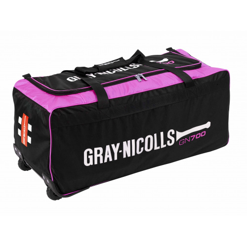 Gray-Nicolls 700 Cricket Wheel Bag -Pink/Black - 2019/2020