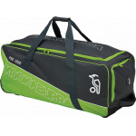 Kookaburra Pro 1000 Cricket Wheel Bag - Charcoal/Lime - 2019/2020 Kookaburra Pro 1000 Cricket Wheel Bag - Charcoal/Lime - 2019/2020