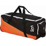 Kookaburra Pro 1000 Cricket Wheel Bag - Black/Fluro Red - 2019/2020 Kookaburra Pro 1000 Cricket Wheel Bag - Black/Fluro Red - 2019/2020