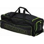 Kookaburra Pro Players 1 Cricket Wheel Bag - BLACK/LIME - 2019/2020 Kookaburra Pro Players 1 Cricket Wheel Bag - BLACK/LIME - 2019/2020
