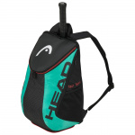 Head Tour Team Back Pack - BLACK/TEAL (Racquet not Included) Head Tour Team Back Pack - BLACK/TEAL (Racquet not Included)