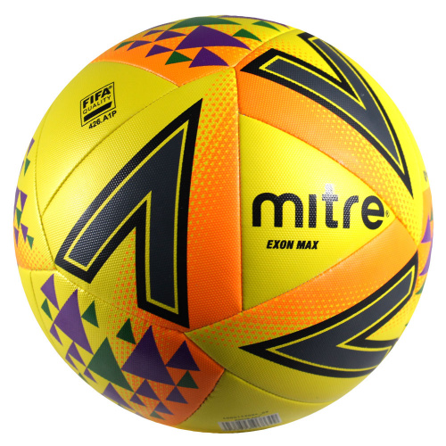 Mitre Exon Max Soccer Ball Yellow Sportsmart Melbourne S Largest Sports Warehouses