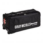 Gray-Nicolls GN 700 Cricket Wheel Bag - BLACK Gray-Nicolls GN 700 Cricket Wheel Bag - BLACK