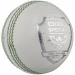 Gray-Nicolls Crest Special 2pce Cricket Ball - 156g - WHITE Gray-Nicolls Crest Special 2pce Cricket Ball - 156g - WHITE