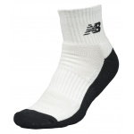 New Balance Men's Triumph Qtr Crew Sock (Size 7-11) - WHITE New Balance Men's Triumph Qtr Crew Sock (Size 7-11) - WHITE