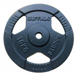 Buffalo 7.5kg Tri-Grip Weight Plate Buffalo 7.5kg Tri-Grip Weight Plate