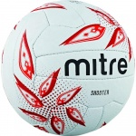 Mitre Shooter Netball - White/Red Mitre Shooter Netball - White/Red