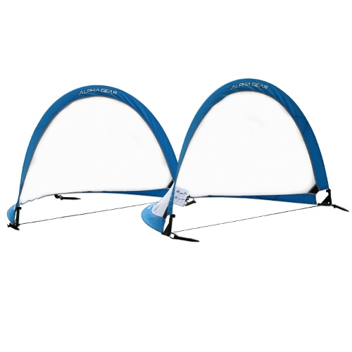 Alpha Gear 4ft Round Pop Up Goals - Pair