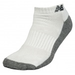 New Balance Men's Response Ped Sock (Size 7-11) - WHITE New Balance Men's Response Ped Sock (Size 7-11) - WHITE