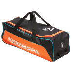 Kookaburra Pro 5.0 Cricket Wheel Bag - Black/Orange Kookaburra Pro 5.0 Cricket Wheel Bag - Black/Orange