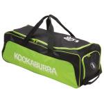 Kookaburra Pro 4.0 Cricket Wheel Bag - Black/Lime Kookaburra Pro 4.0 Cricket Wheel Bag - Black/Lime