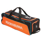 Kookaburra Pro 4.0 Cricket Wheel Bag - Black/Orange Kookaburra Pro 4.0 Cricket Wheel Bag - Black/Orange