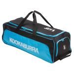 Kookaburra Pro 4.0 Cricket Wheel Bag - Black/Blue Kookaburra Pro 4.0 Cricket Wheel Bag - Black/Blue