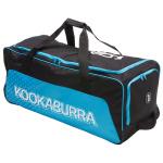 Kookaburra Pro 3.0 Cricket Wheel Bag - Black/Blue Kookaburra Pro 3.0 Cricket Wheel Bag - Black/Blue