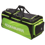 Kookaburra Pro 1.0 Cricket Wheel Bag - Black/Lime Kookaburra Pro 1.0 Cricket Wheel Bag - Black/Lime
