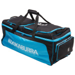 Kookaburra Pro 1.0 Cricket Wheel Bag - Black/Blue Kookaburra Pro 1.0 Cricket Wheel Bag - Black/Blue