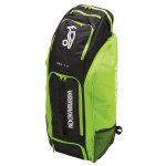 Kookaburra Pro 1.0 Cricket Duffle Bag - Black/Lime Kookaburra Pro 1.0 Cricket Duffle Bag - Black/Lime