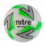 Mitre Impel Futsal Ball - WHITE/GREEN Mitre Impel Futsal Ball - WHITE/GREEN