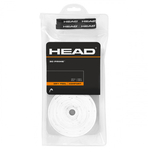 Head Prime Overgrip 30 Pack - White