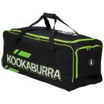 Kookaburra PRO 3.0 Cricket Wheelie Bag - BLACK/LIME Kookaburra PRO 3.0 Cricket Wheelie Bag - BLACK/LIME