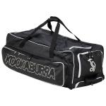 Kookaburra PRO Players 1 Cricket Wheelie Bag - BLACK/WHITE Kookaburra PRO Players 1 Cricket Wheelie Bag - BLACK/WHITE