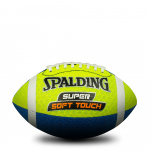 Spalding Super Soft American Football - Size 3 (COLOURS MAY VARY) Spalding Super Soft American Football - Size 3 (COLOURS MAY VARY)