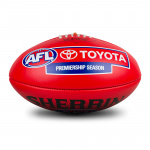 Sherrin KB Official AFL Game Ball - Red Sherrin KB Official AFL Game Ball - Red
