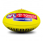 Sherrin KB Official AFL Game Ball - Yellow Sherrin KB Official AFL Game Ball - Yellow