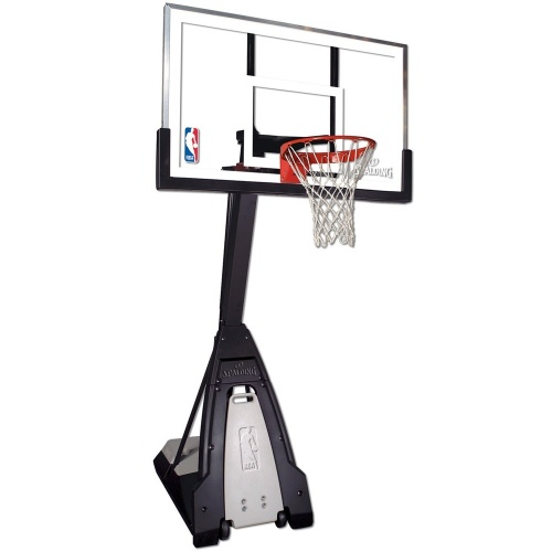 SPALDING THE BEAST 60 inch PORTABLE BASKETBALL SYSTEM  620c3aacb3
