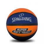 Spalding Super Soft Basketball - Navy/Orange - Size 3 Spalding Super Soft Basketball - Navy/Orange - Size 3