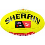 Sherrin AFLW Replica Game Football  - YELLOW Sherrin AFLW Replica Game Football  - YELLOW