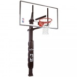 Spalding 60 inch Glass In-Ground Basketball System Spalding 60 inch Glass In-Ground Basketball System