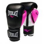 Everlast Powerlock Women's 12oz Training Glove - Black/Pink Everlast Powerlock Women's 12oz Training Glove - Black/Pink