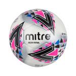 Mitre Delta Futsal Ball - WHITE/PINK Mitre Delta Futsal Ball - WHITE/PINK