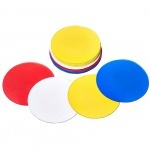 Mitre Flat Space Markers - Set of 20 - WHITE/ORANGE Mitre Flat Space Markers - Set of 20 - WHITE/ORANGE