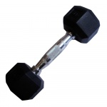 Magnum Pro Rubber Dumbbell - 3kg Magnum Pro Rubber Dumbbell - 3kg