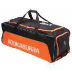 Kookaburra Pro 2.0 Wheelie Cricket Bag - Black/Orange Kookaburra Pro 2.0 Wheelie Cricket Bag - Black/Orange