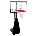 Spalding 54 inch Glass Diamond Portable Basketball System Spalding 54 inch Glass Diamond Portable Basketball System