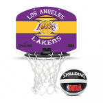 Spalding NBA Mini Backboard - Los Angeles Lakers Spalding NBA Mini Backboard - Los Angeles Lakers