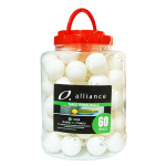 Alliance ABS 1 STAR Table Tennis Balls - PACK OF 60 Alliance ABS 1 STAR Table Tennis Balls - PACK OF 60