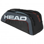 Head Tour Team 9R Supercombi Tennis Bag - BLACK/GREY Head Tour Team 9R Supercombi Tennis Bag - BLACK/GREY