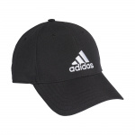 Adidas Youth Baseball Cap - Black/Black/White Adidas Youth Baseball Cap - Black/Black/White