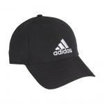Adidas Womens Baseball Cap - Black/Black/White Adidas Womens Baseball Cap - Black/Black/White