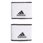 Adidas Small Tennis Wristband - White/Black/Black Adidas Small Tennis Wristband - White/Black/Black
