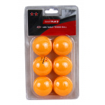 SMARTPLAY 2 Star Orange Table Tennis Balls - PACK OF 6 SMARTPLAY 2 Star Orange Table Tennis Balls - PACK OF 6